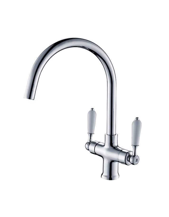 Two Handle One Hole Sink Mixer - Rubinetterie DueGi
