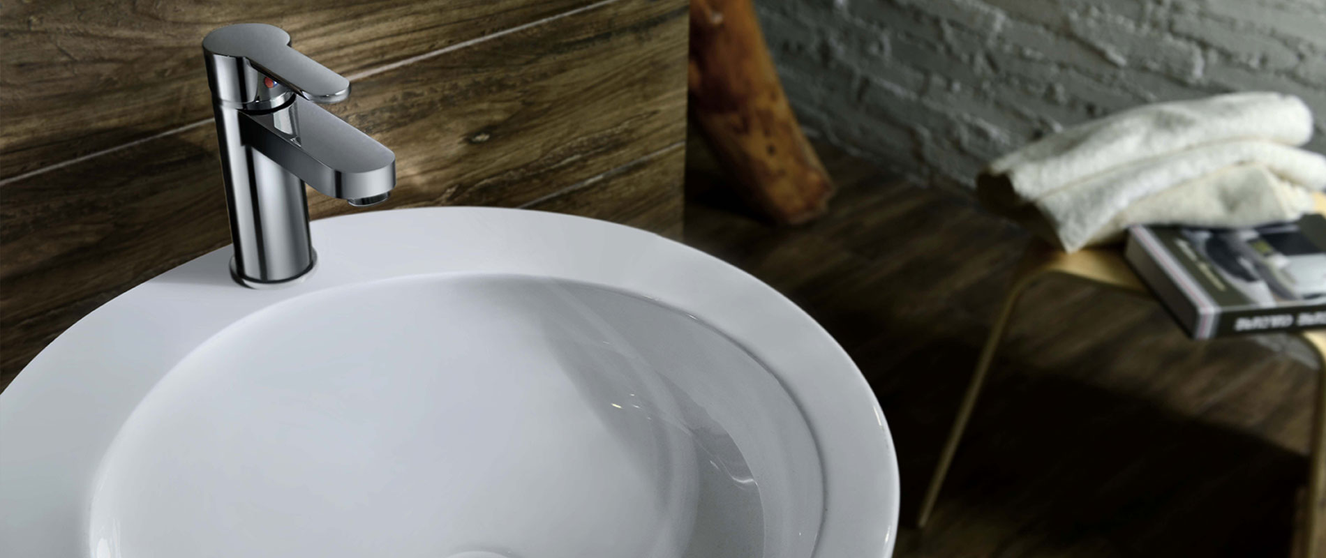 Italian design for bathroom taps and accessories