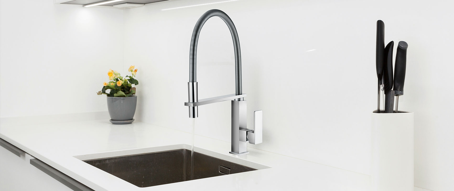 High-end kitchen mixers by DueGi