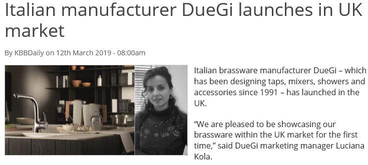Italian tap manufacturer