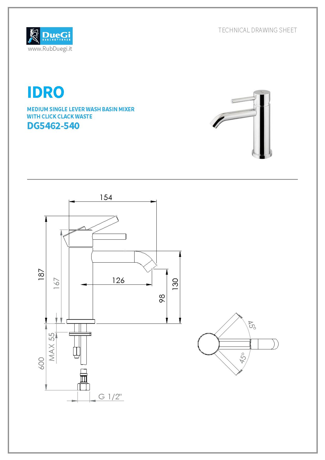 idro dg5462-540